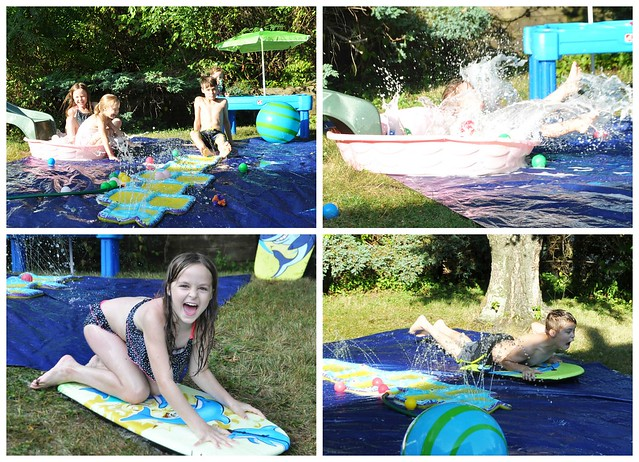 DIY Backyard Splash Pad
