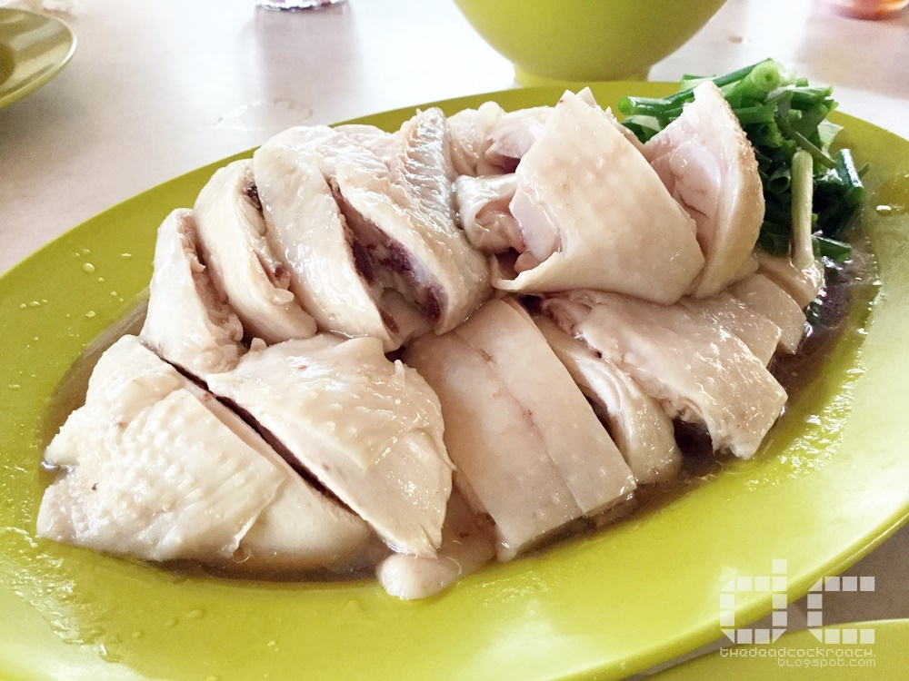 chicken rice, food, hua kee chicken rice, redhill, redhill food centre, 焱, 华记鸡饭,singapore,food review,review