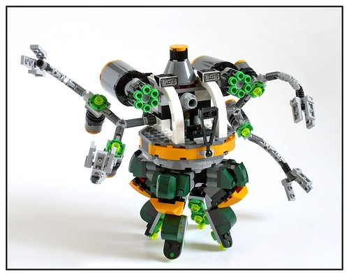 LEGO Marvel Super Heroes 76059 Spider-Man Doc Ock's Tentacle Trap 32