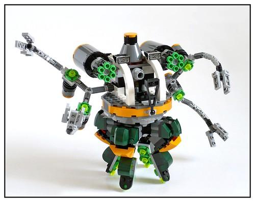 LEGO Marvel Super Heroes 76059 Spider-Man Doc Ock's Tentacle Trap 32