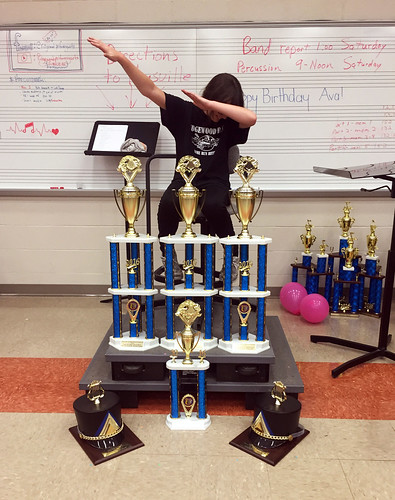 How Julia reacted when the band qualified for State Marching Band Finals