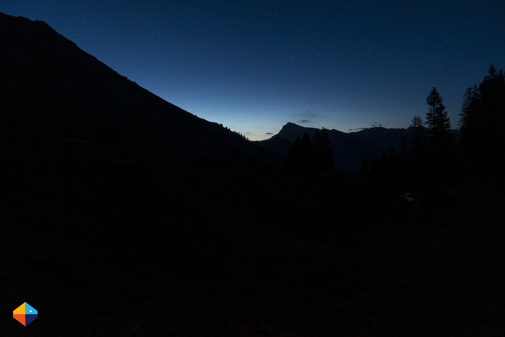 Darkness over the valley