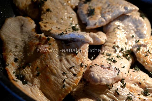 Filets de Dinde Aux Raisins & Pinot Gris © Ana Luthi Tous droits rservés 13
