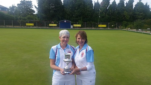 County ladies pairs winners 2016