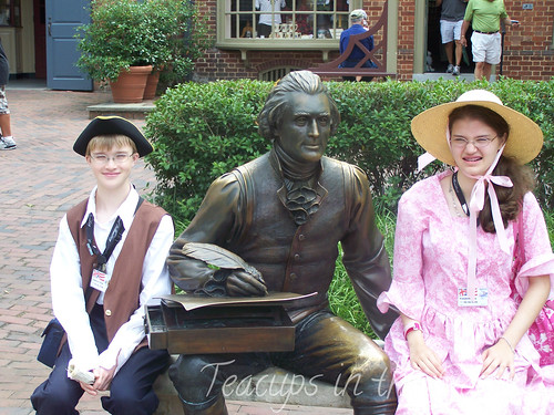 Thomas Jefferson at Merchant's Square