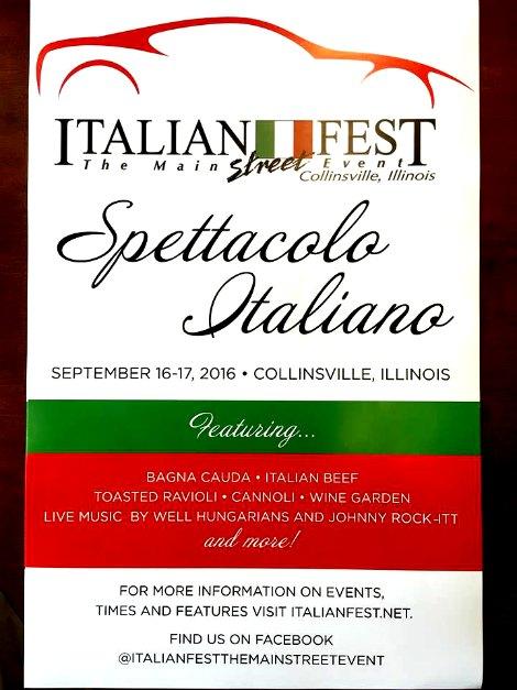 Italian Fest 9-16, 17-16