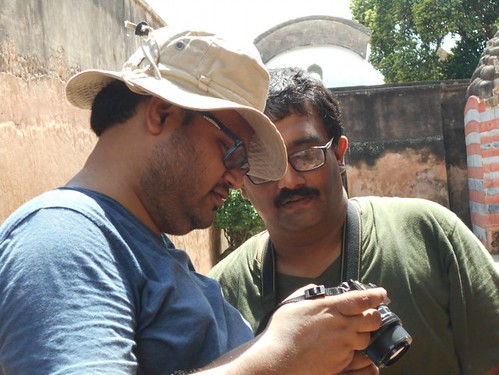 Sumit and Sujay - During Wiki Loves Monuments 2016, Kalna, West Bengal India