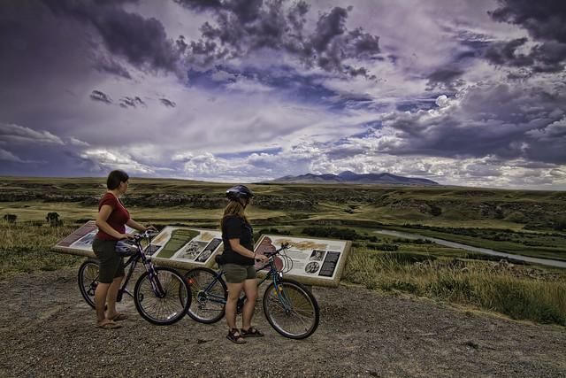 Biking - Writing-on-Stone PP