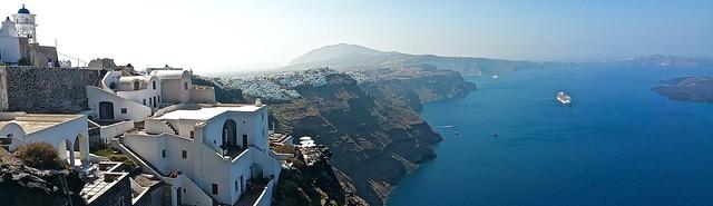 Imerovigli - picturesque village on the Aegean Sea