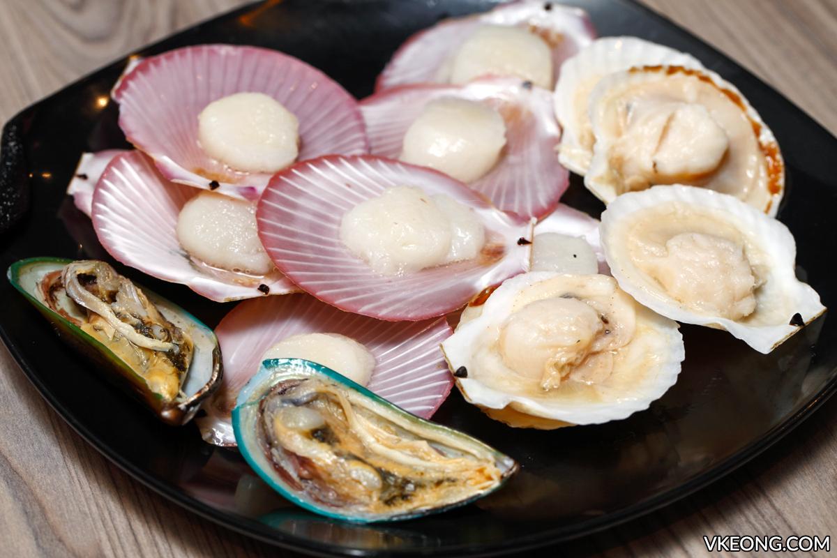 Oppa Steamboat Scallops Mussels