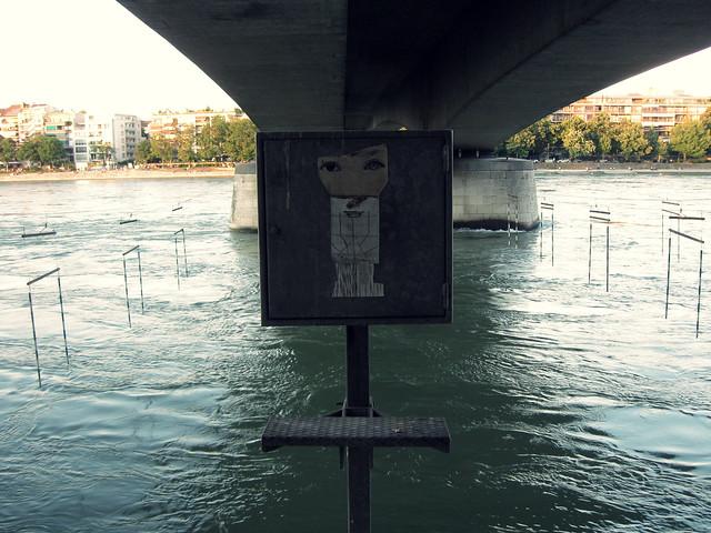 Unter der Johanniterbrücke