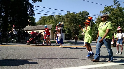 The 2016 Greenbelt Labor Day Parade in Greenbelt, Maryland.