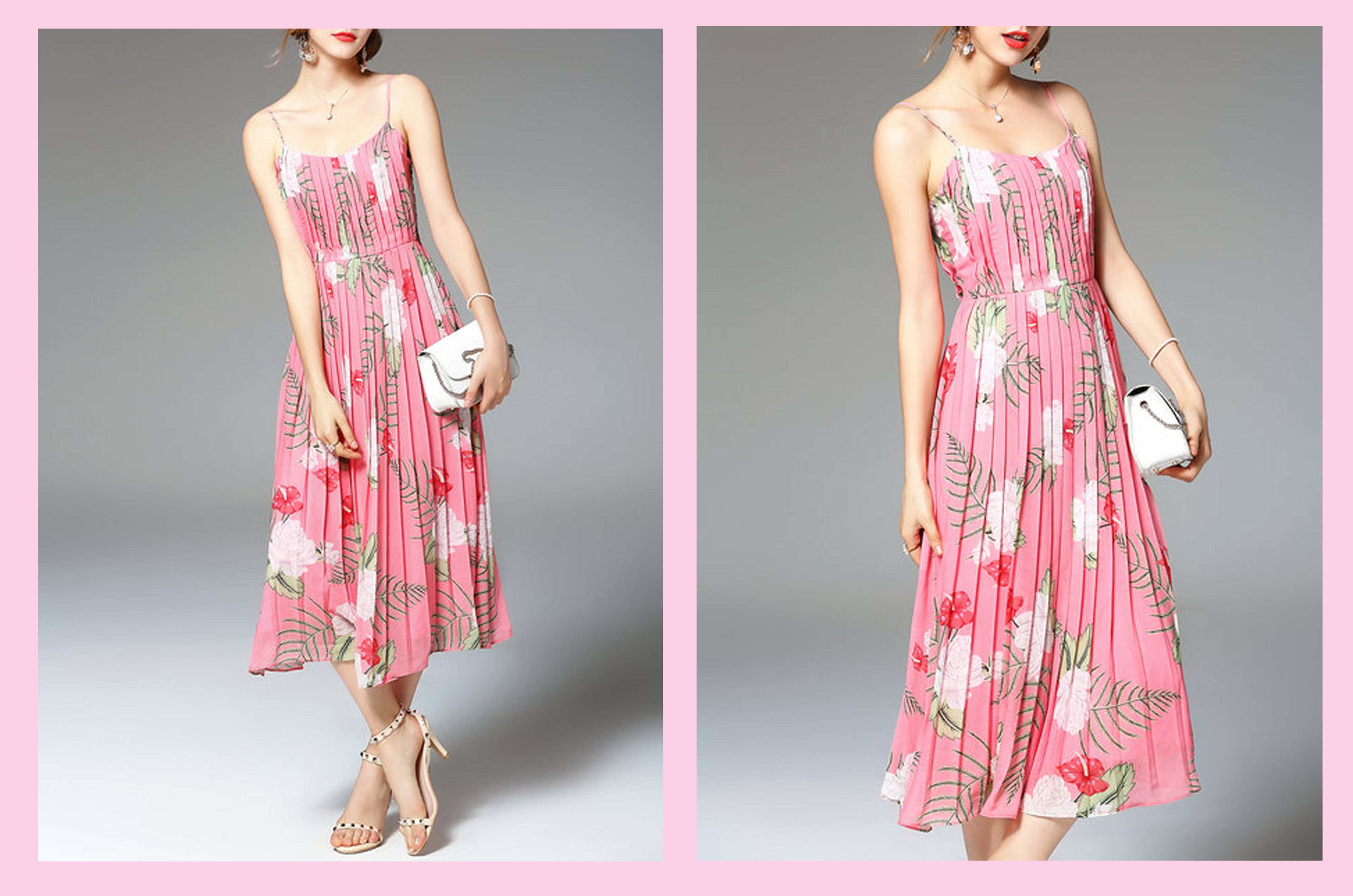 floral pink stylewe dress