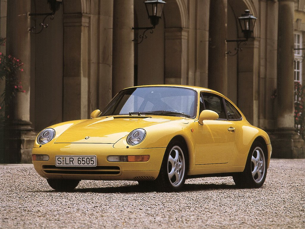 Porsche 911 Carrera 3.6 Coupe (кузов 993). 1993 – 1997 годы
