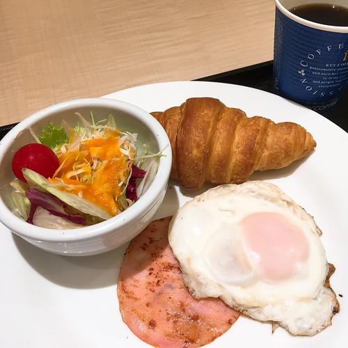 恵比寿の吉野家でパンなモーニング始まる 2016.8