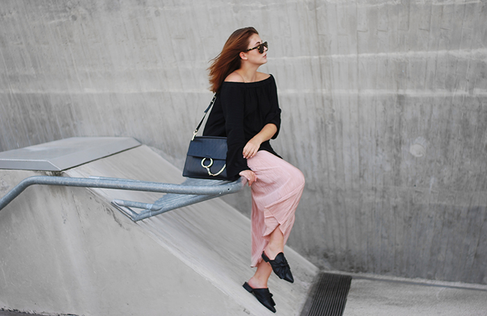 Rose-culottes-off-shoulder-dress-3