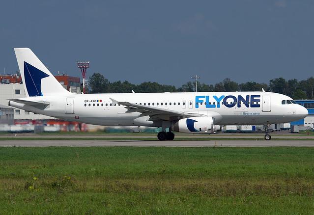 ER-AXO FlyOne Airbus A320-231