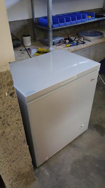 New chest freezer
