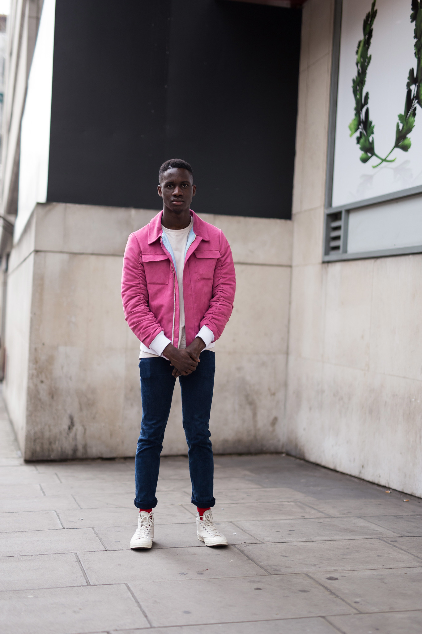 Street Style - Kevin Adom, London Collections: Men