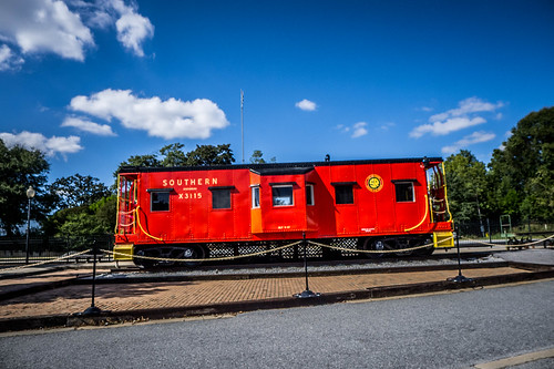 Hub City Railroad Museum Caboose