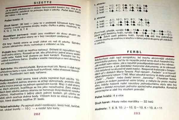 Kniha 100 + 1 karetních her, Vojtěch Omasta