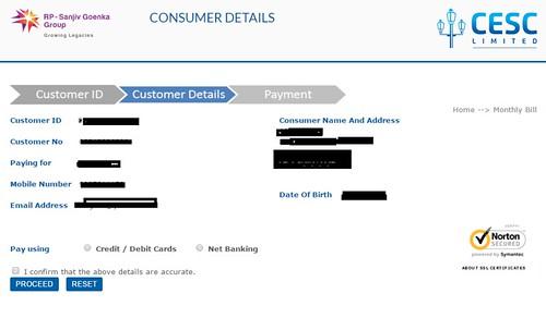 cesc bill payment online