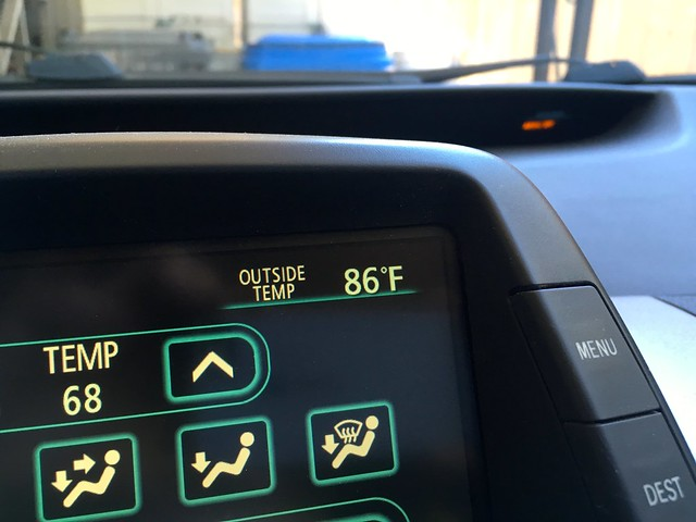86 in the shade in malibu
