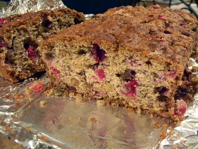 Cranberries and Cream Loaf