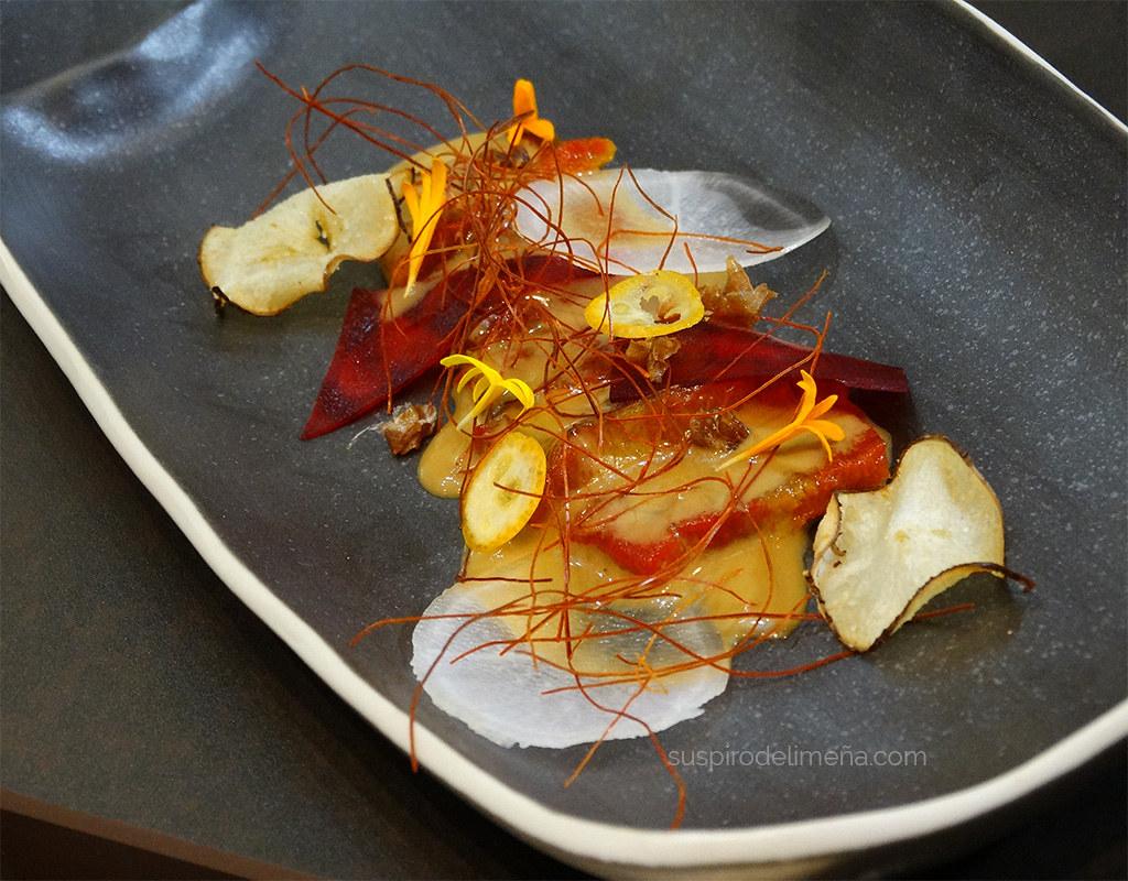 Sashimi de pimiento