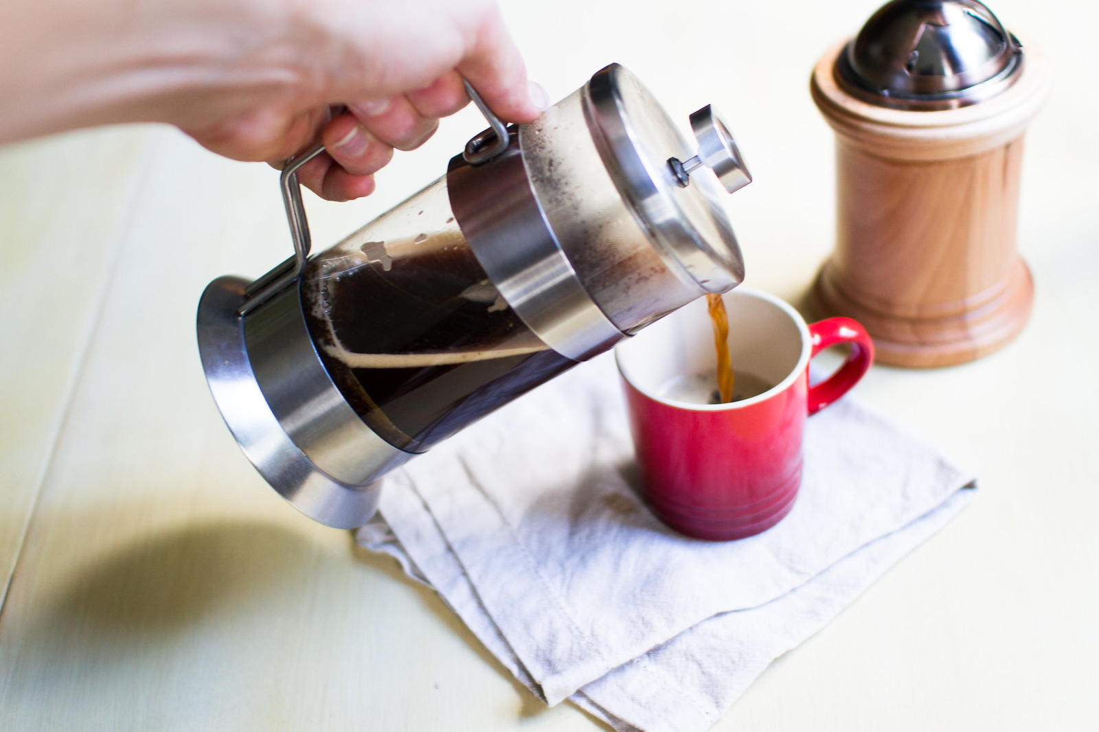 Leo French Press Coffee Maker : How to make the perfect cup of french press coffee Paleo Concept