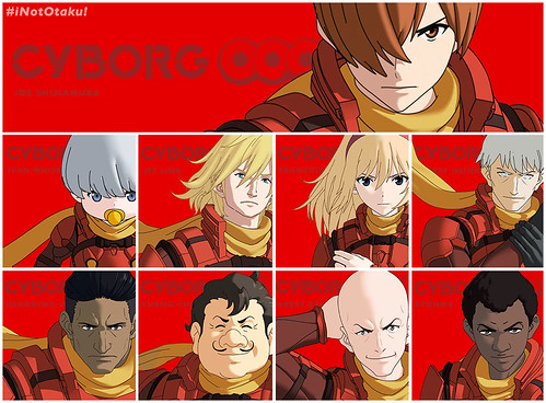 cyborg009-Characters