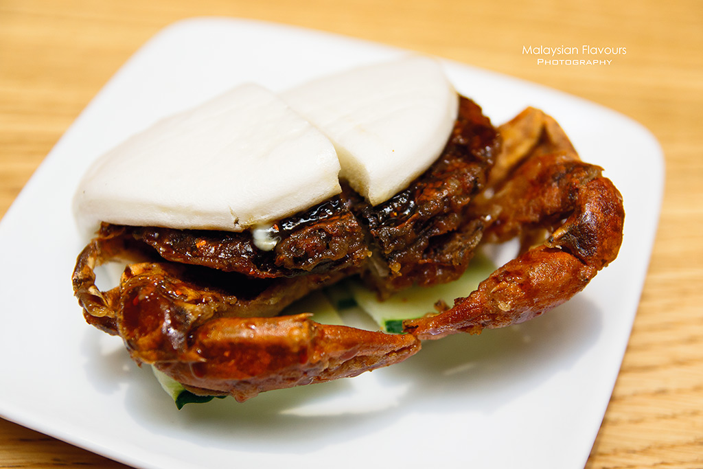 Ippudo Malaysia Grand Menu 2016 soft shell crab bun