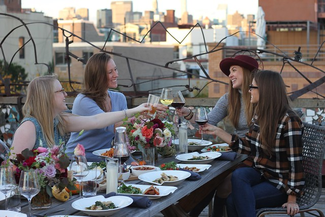 Fall New York Dinner Party