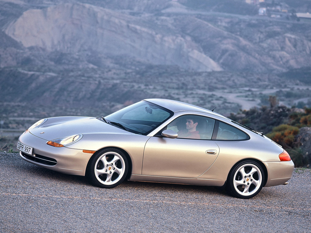 Porsche 911 Carrera Coupe (кузов 996). 1997 – 2001 годы