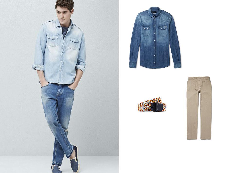 Camisa azul 01