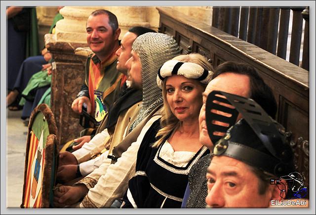 Fin de Semana Cidiano Ofrenda floral en la tumba del Cid (4)