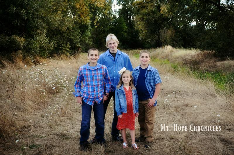 The Kids @ Mt. Hope Chronicles