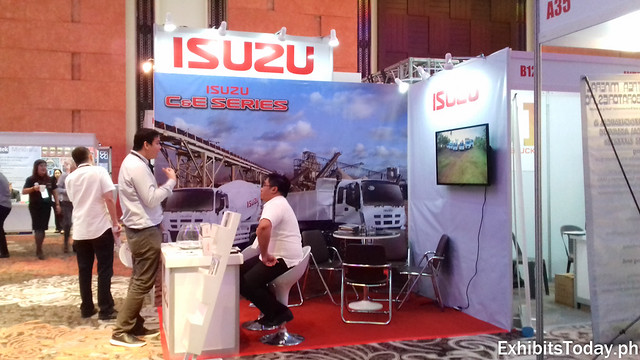Isuzu Exhibit Booth