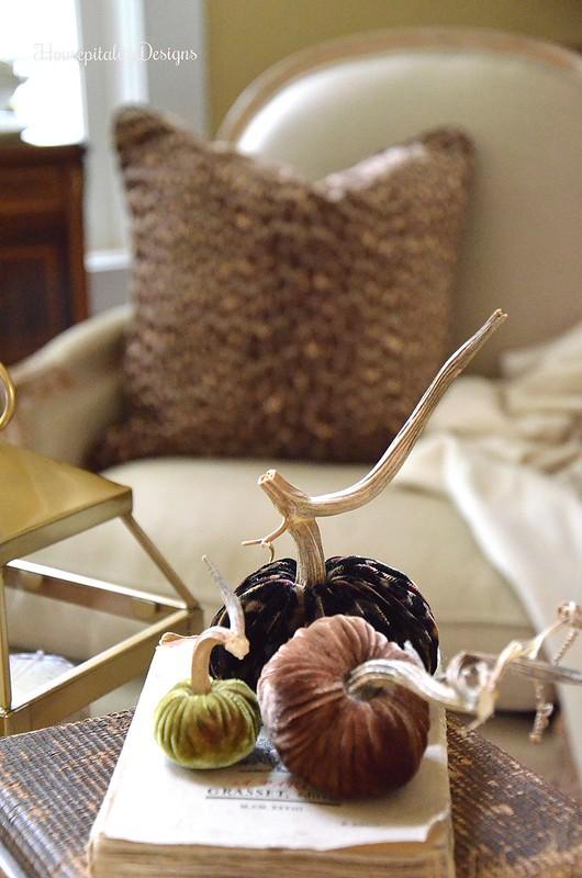 Leopard Pillow - Velvet leopard pumkin - Velvet Pumpkins - Housepitality Designs