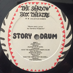 THE SHADOW BOX ORCHESTRA:STORY DRUMS(LABEL SIDE-A)