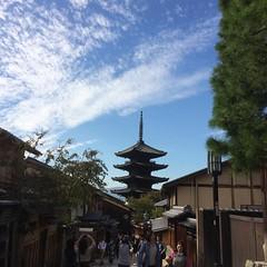 earlier❤︎  #kyoto #japan #latergram #京都