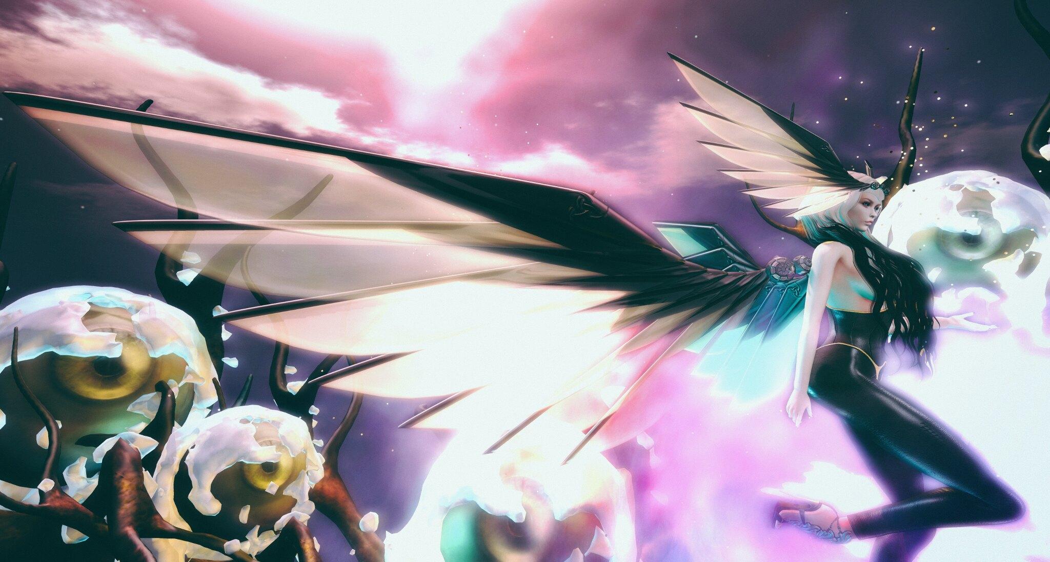 E.V.E Asgard Wings and Headpiece