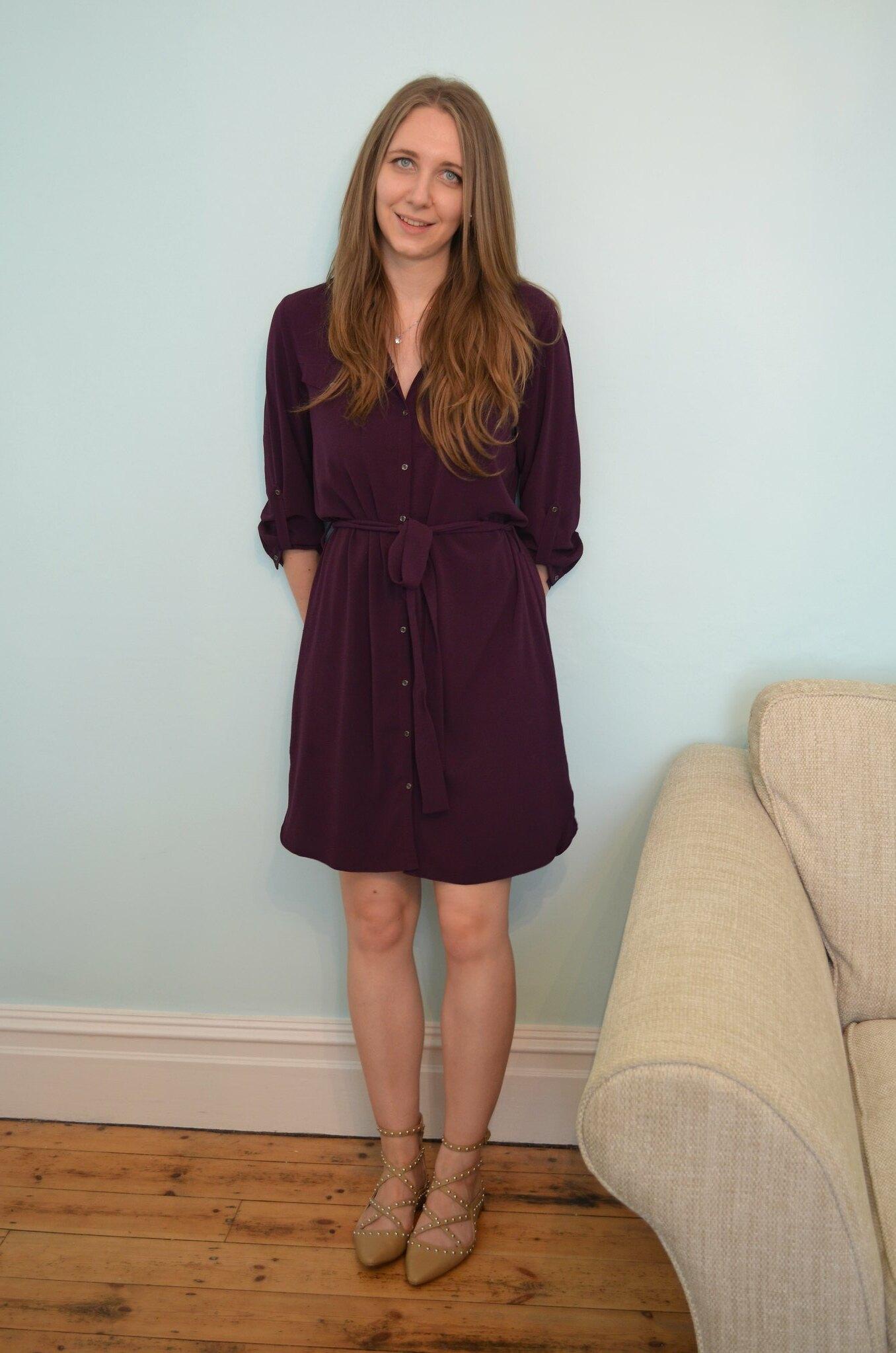 JD Williams Button Sleeve Shirt Dress 4