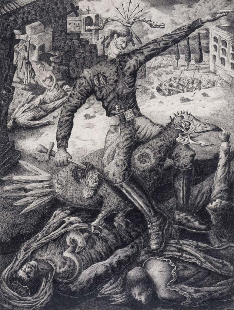 Antonio Rodríguez Luna - The Falangist, 1937