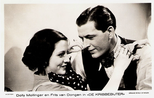 Dolly Mollinger and Frits van Dongen in De kribbebijter