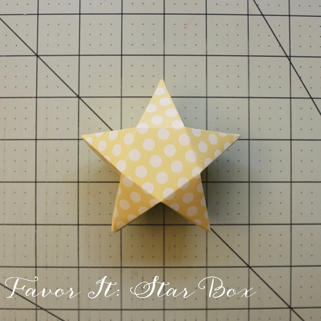 Finished Star Box