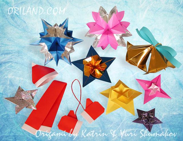 Origami Christmas Treats