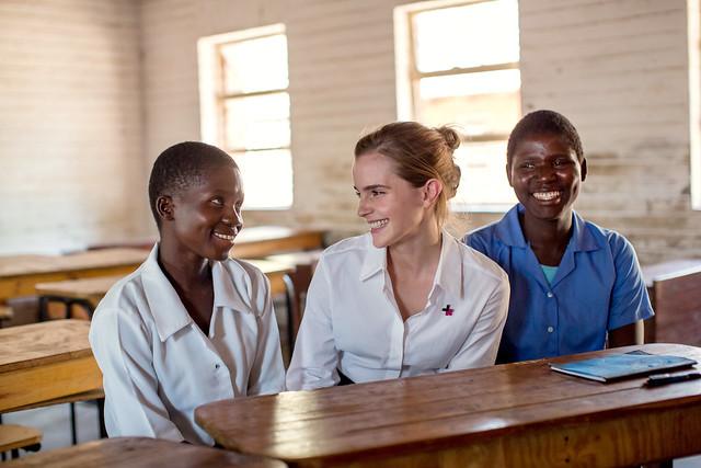 Malawi - Goodwill Ambassador Emma Watson in Malawi