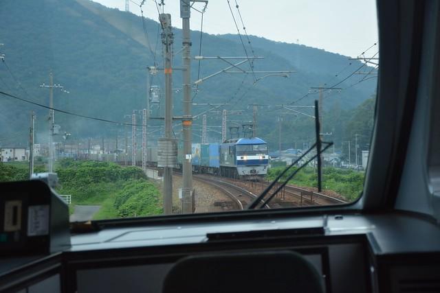 山陽本線の貨物列車