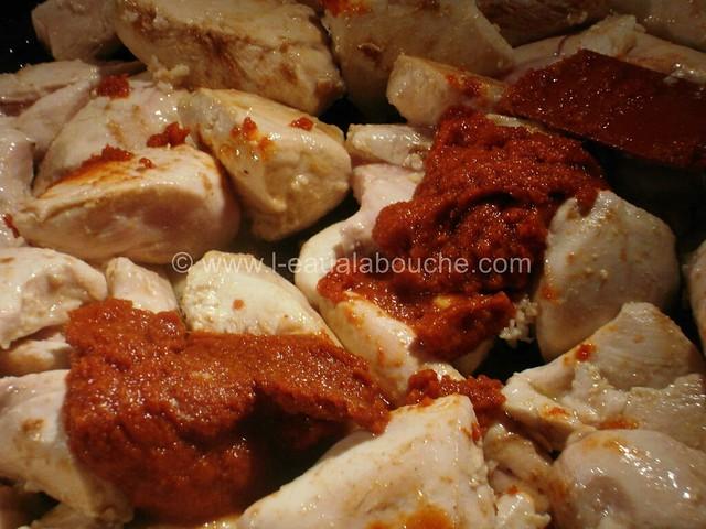 Poulet au Curry Rouge Thaï & Légumes Sautés © Ana Luthi Tous droits réservés 09